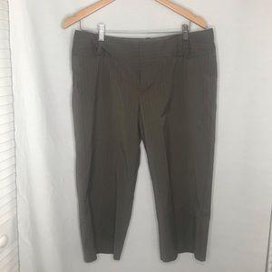 Mossino Stretch Capri/Cropped Pant